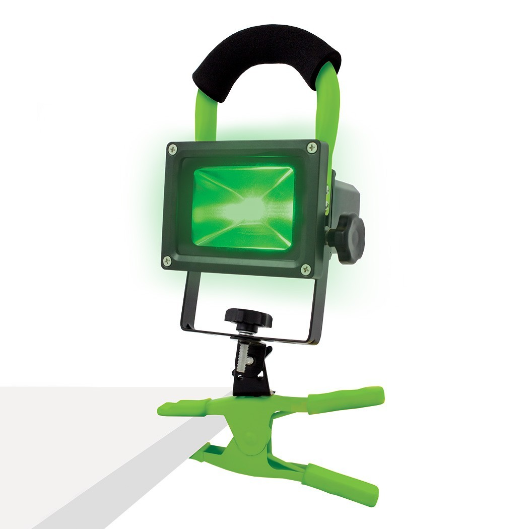 Pracovní zelené světlo do pěstírny Lumii 10W