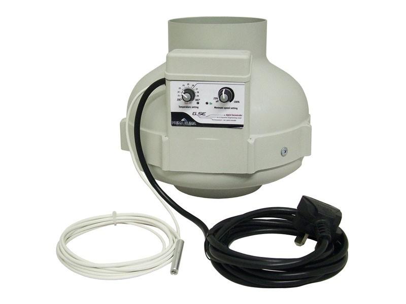 Ventilátor Prima Klima 160mm, 800m³/h, ventilátor s regulací teploty