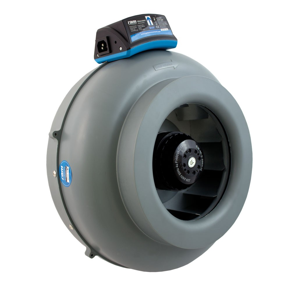 RAM INLINE DUCT FAN VK Ø125mm 375m³/h, ventilátor