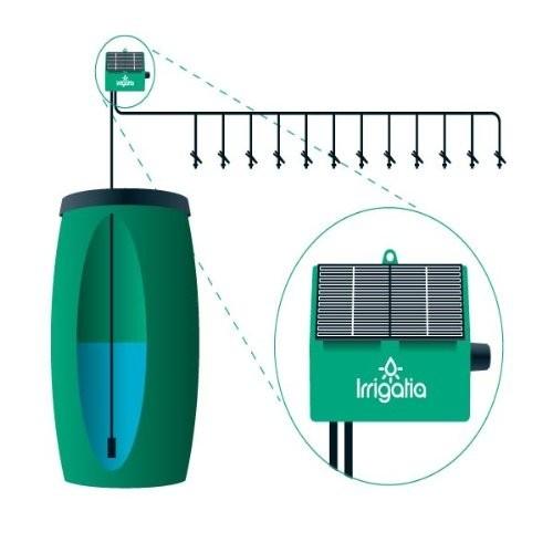 Irrigatia SOL-C12 Automatická solární závlaha(12 kapkovačů)