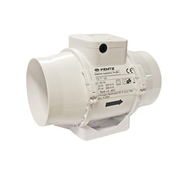 TT 125mm/280m3, ventilátor