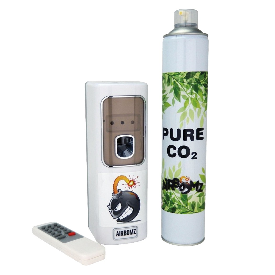 Airbomz CO2 Dispenser se senzorem + tlaková CO2 bomba