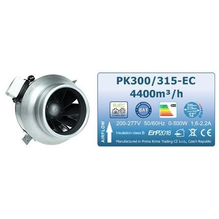 Ventilator Prima Klima Blue Line, 300-315 mm, 4400 m³/h, ventilátor s EC motorem