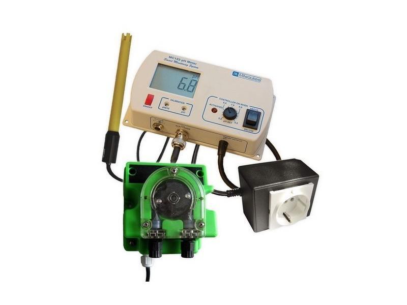 Milwaukee MC720 automatická pH regulace