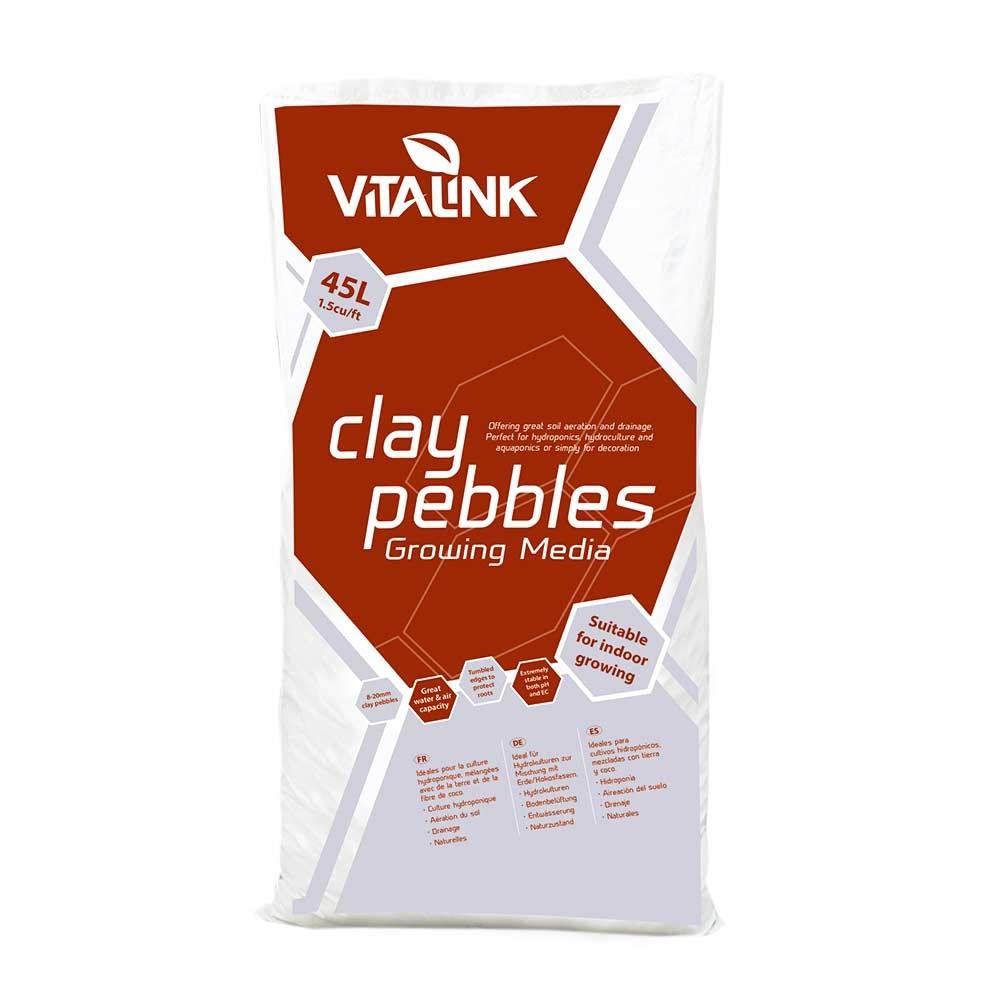 VitaLink Clay Pebbles 45L, keramzit