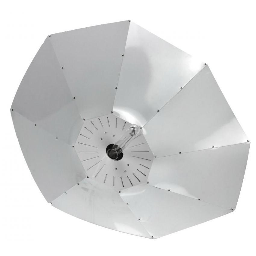 Lumatek Turrican White Ø100 cm parabolické stínidlo