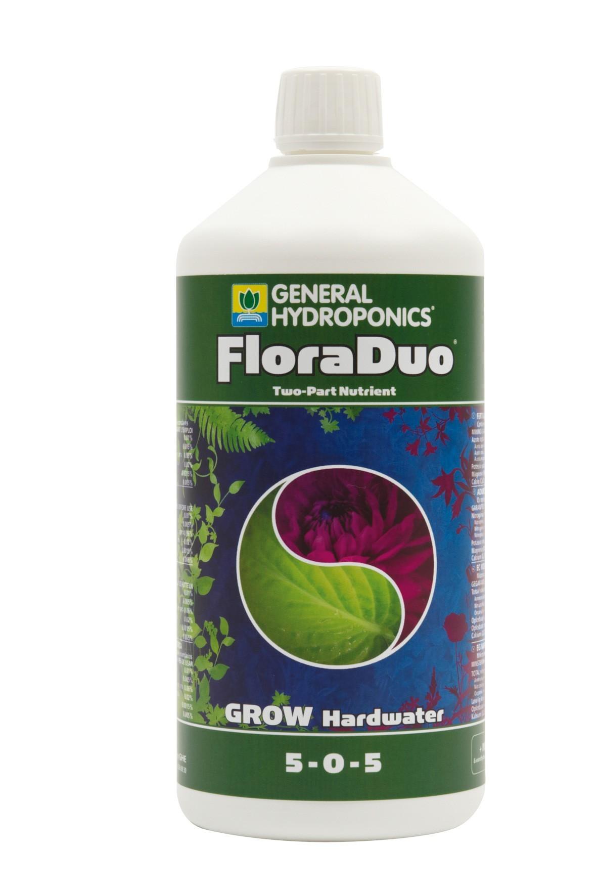 GHE FloraDuo Grow Hard Water 1L