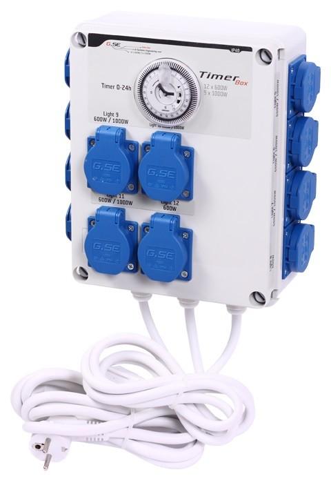 GSE Timer Box II - 12x600W / 220V