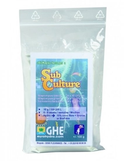 GHE SubCulture 100g (Trikologic S), mykorhiza