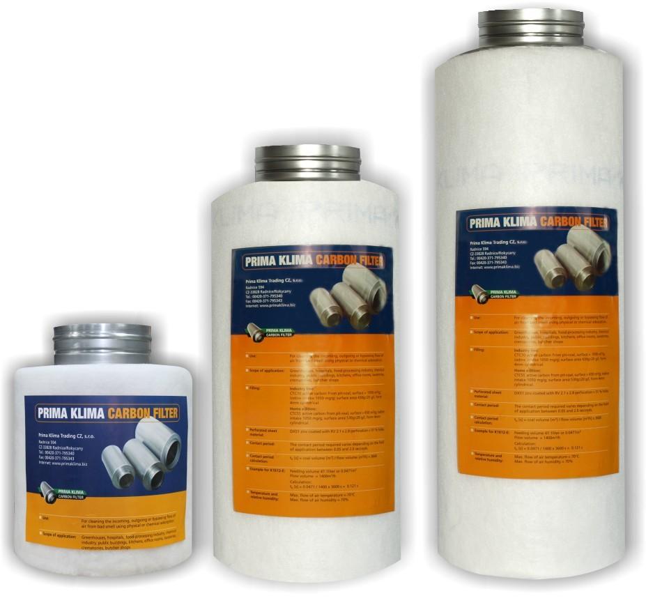 Prima Klima Industry filter K1610 200mm, 1650m3/h, pachový filtr