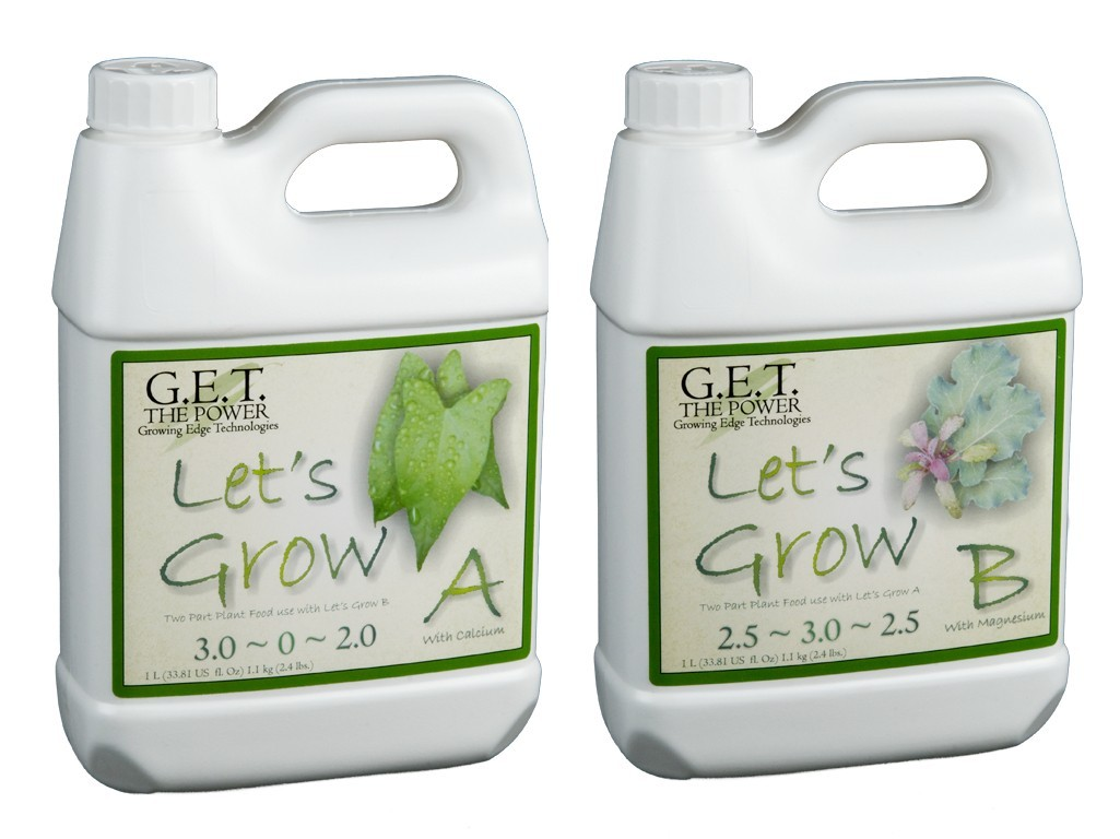 G.E.T. Let's Grow (A+B) 1 l - růstové hnojivo