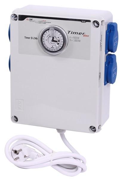 GSE Timer Box II - 4x600W / 220V