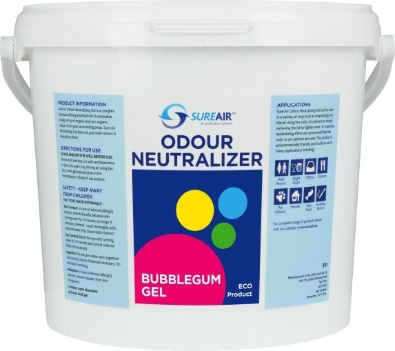 Sure air Gel 5 kg Bublegum