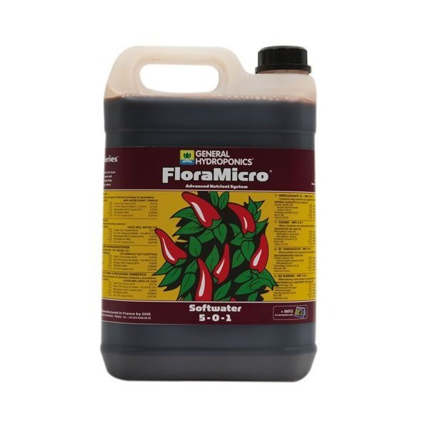 GHE FloraMicro Soft Water 10L
