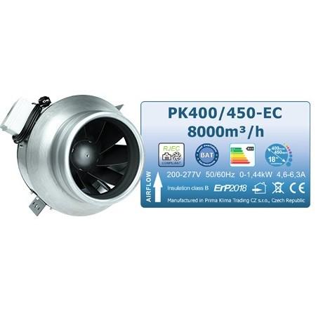 Ventilator Prima Klima Blue Line, 400-450 mm, 8500 m³/h - EC motor