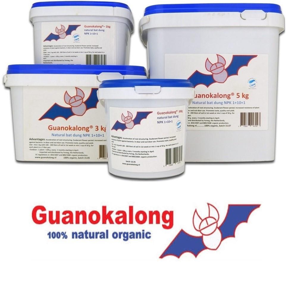 Guanokalong prášek 10 kg