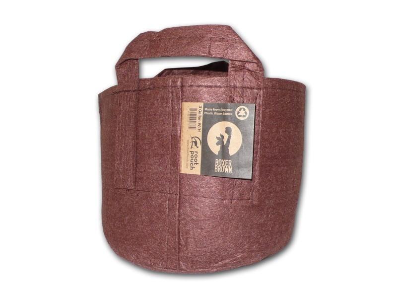 Root pouch textilní květináč Boxer brown 30l