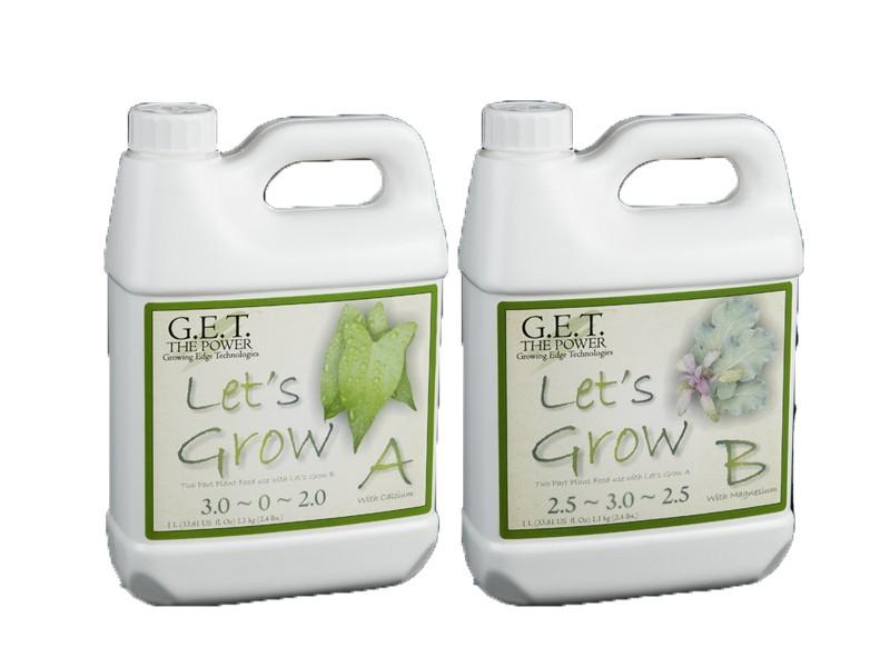 G.E.T. Let's Grow (A+B) 4 l - růstové hnojivo