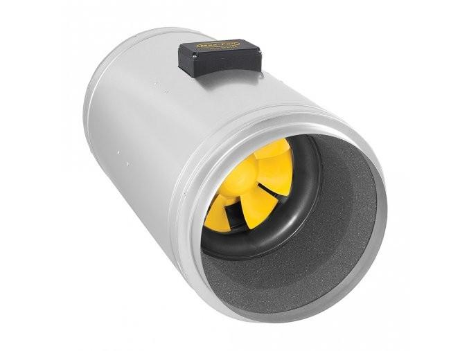 CAN Q-Max EC 160mm - 746m3/h, odhlučněný ventilátor s EC motorem