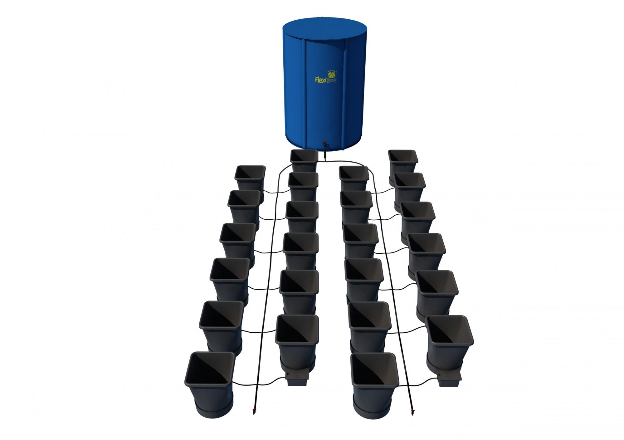 Autopot 1Pot XL systém 24 květníků vč. 400L Flexitank