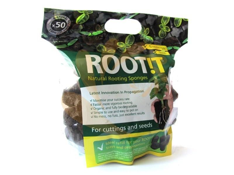 Root!t Natural Rooting Sponges 50ks, rašelinové kostky