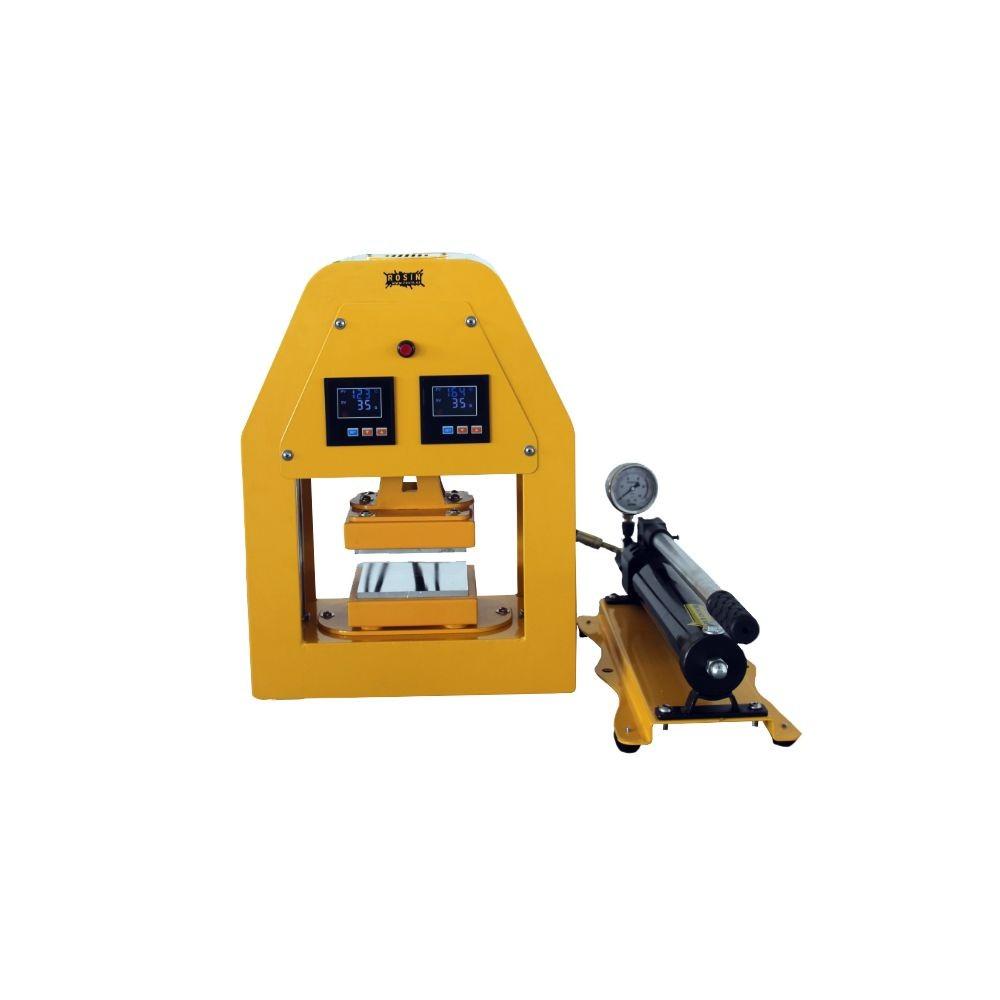 Rosin Press hydraulický lis 20 tun, vyhřívaná lisovací plocha  12x12cm