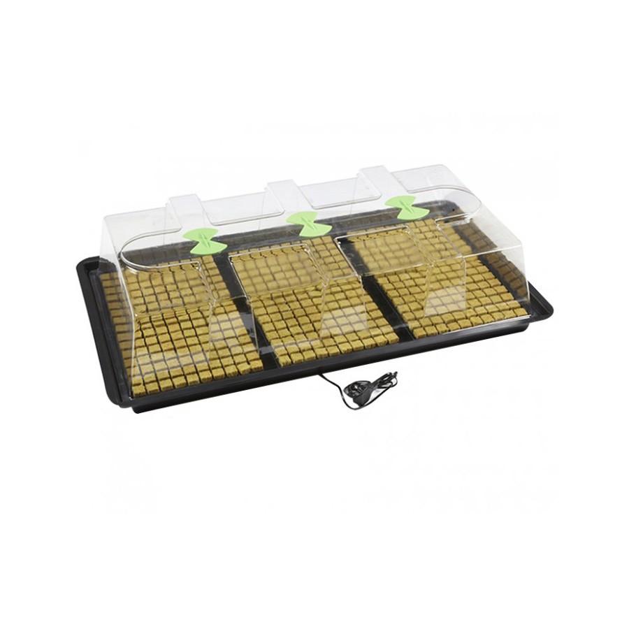 X-Stream skleník L (110,5x58,5x28cm) - vyhřívaný