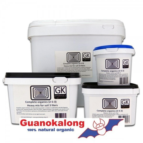 Guanokalong complete organics 3 l