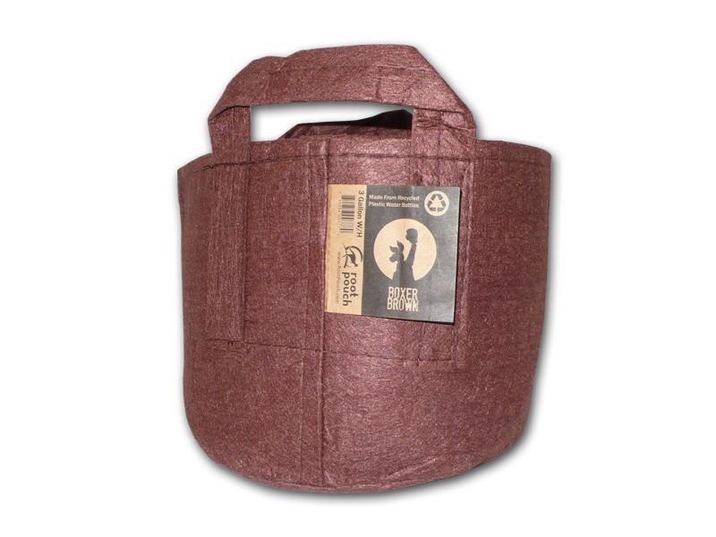 Root pouch textilní květináč Boxer brown 56l