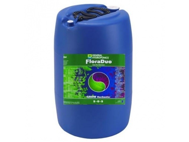 GHE FloraDuo Grow Soft Water 60L