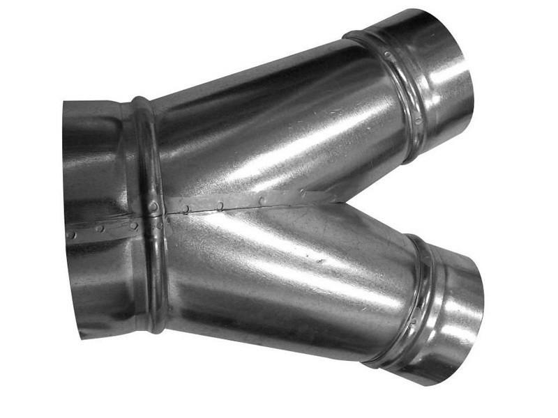 Kalhotový kus 125-125-125 mm
