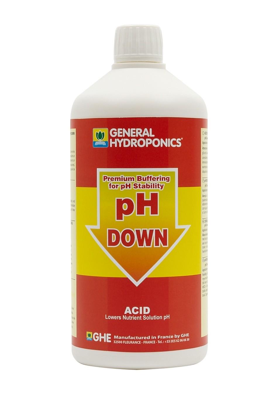 GHE pH down 1L