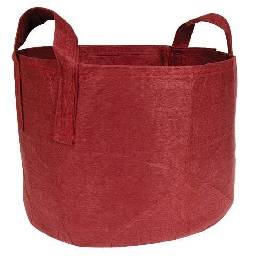 Root pouch textilní květináč Boxer brown 8l (červený)