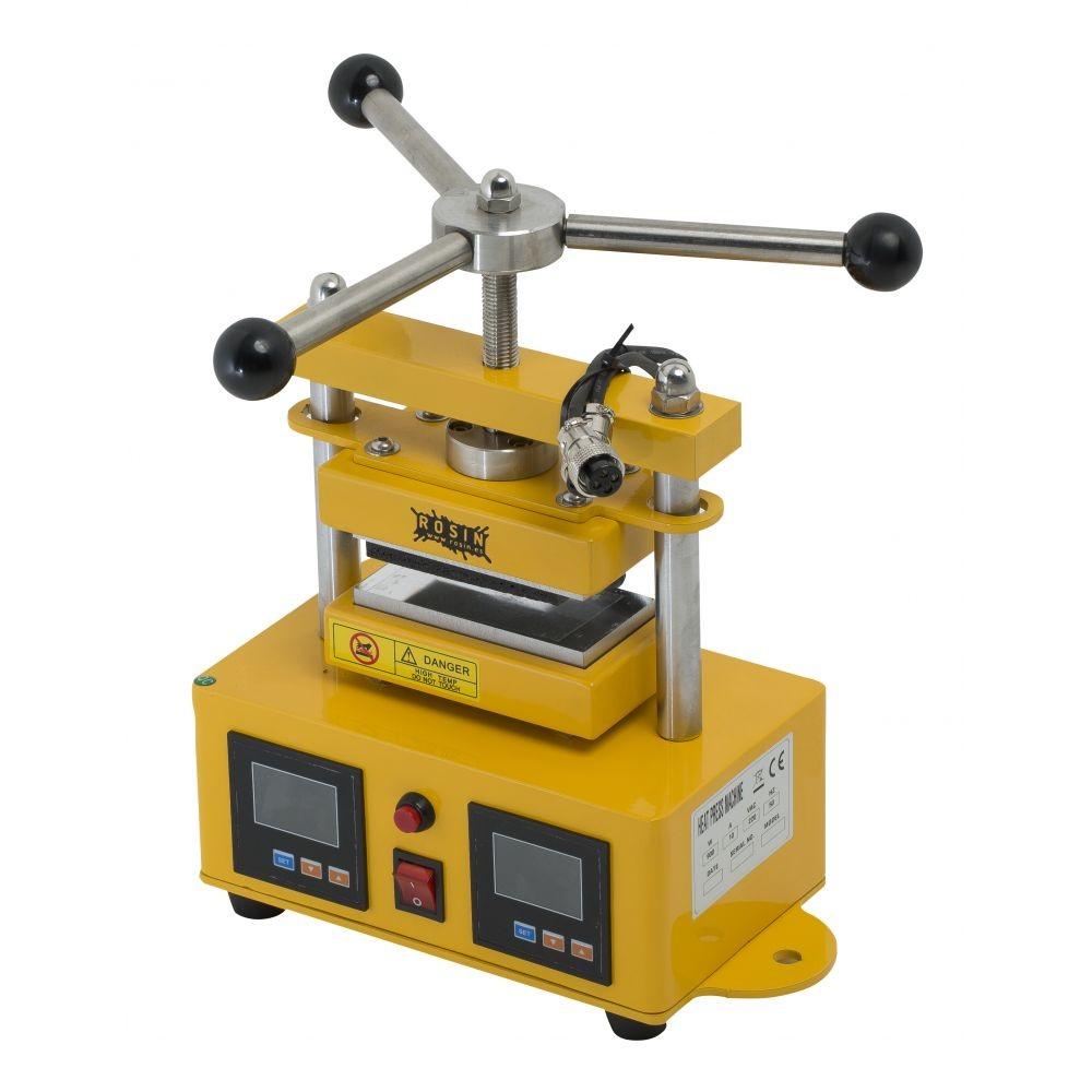 Rosin Press manuální lis 1 tuna, vyhřívaná lisovací plocha  6x12cm
