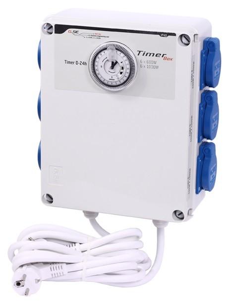 GSE Timer Box II - 6x600W / 220V