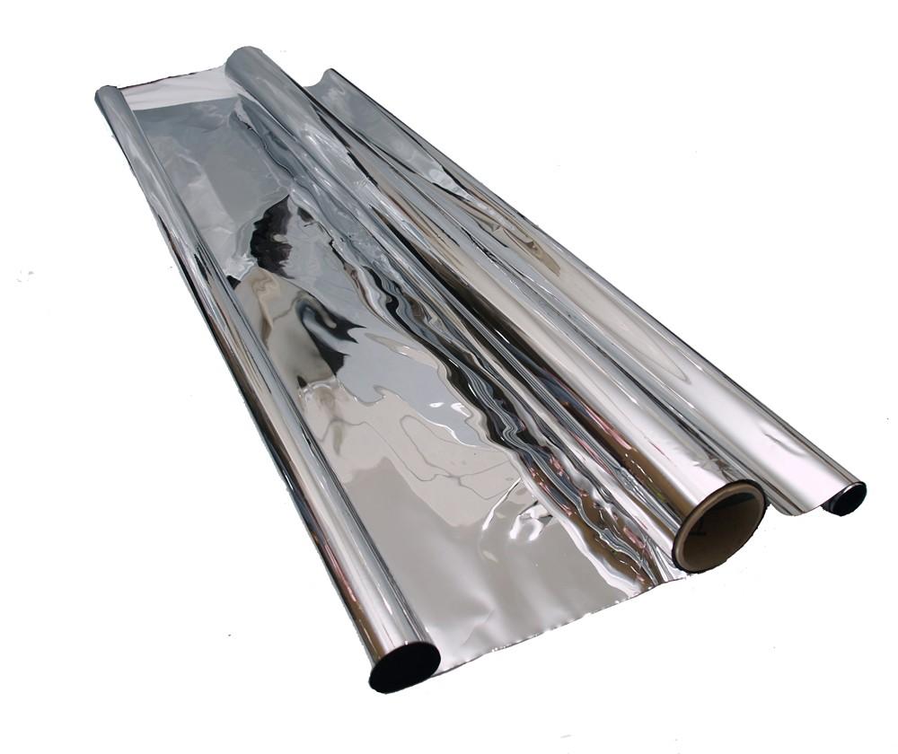 Mylar folie stříbrná odrazová 1.4m x 10m x 35mu