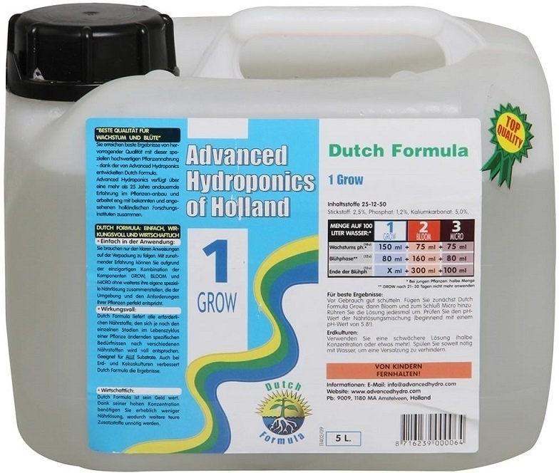 AH Dutch Formula Grow 5 l - minerální růstové hnojivo