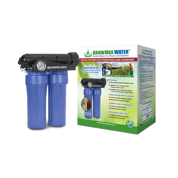 GrowMax Water Reverzní osmotická jednotka Power Grow - 500 l/den
