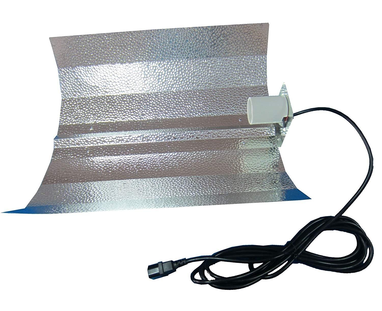Kladívkový reflektor komplet 470x470mm + 5m IEC kabel - Budget