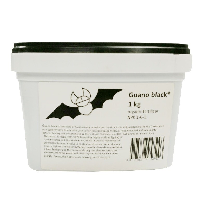 Guano Black 1 kg (NPK 1-6-1)