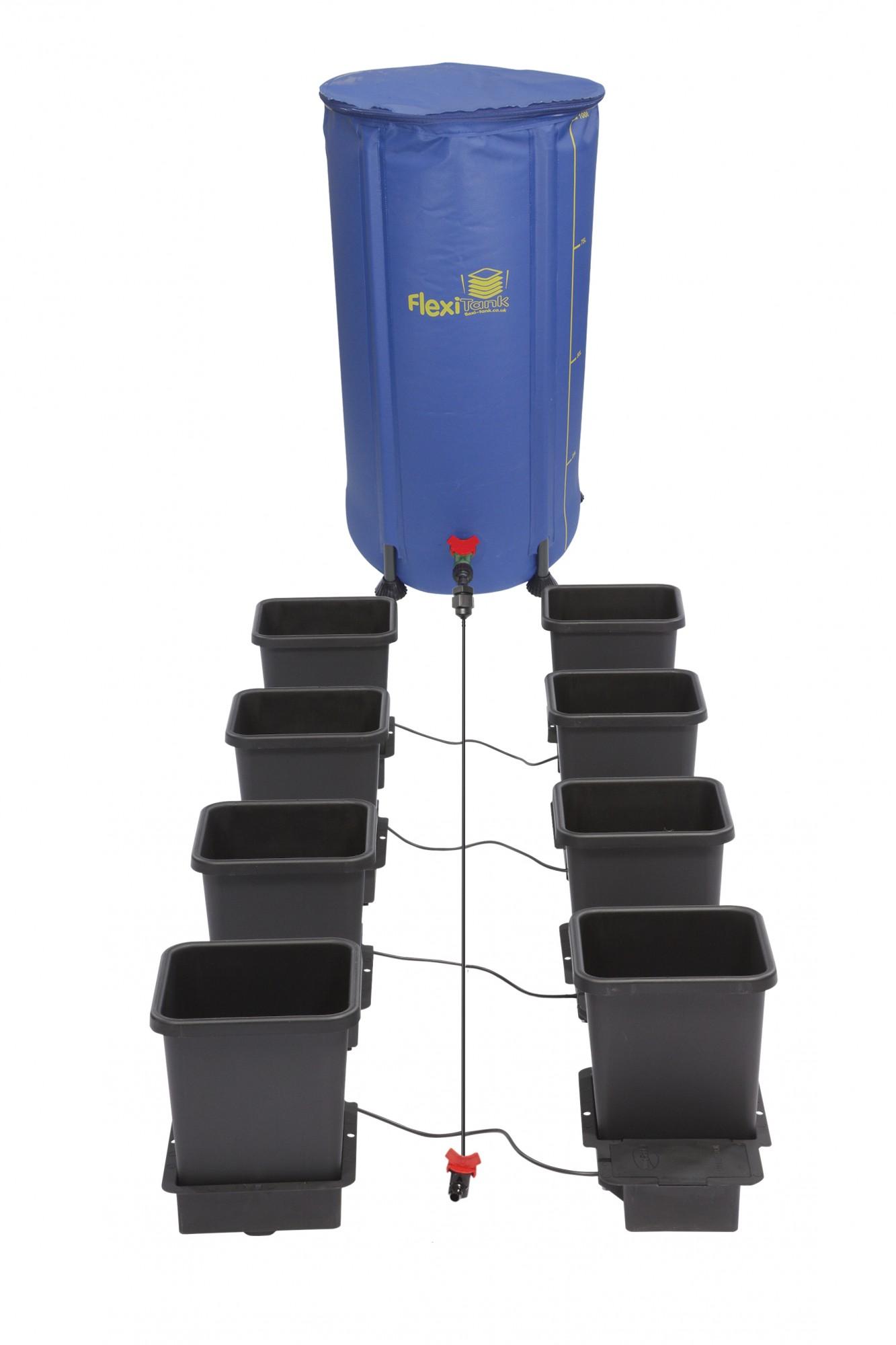 Autopot 1Pot systém 8 květníků vč. 100L Flexitank