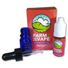 Farm To Vape sada pro rozpouštění pryskyřice 10ml Malina
