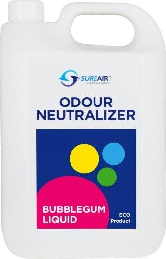 Sure air Liquid 5l Buble gum