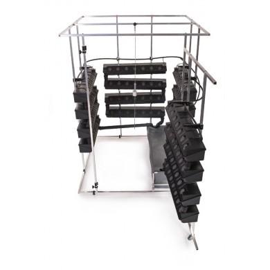 Hydroponický systém VAKPLAST 4SM - čtyřstěnný malý