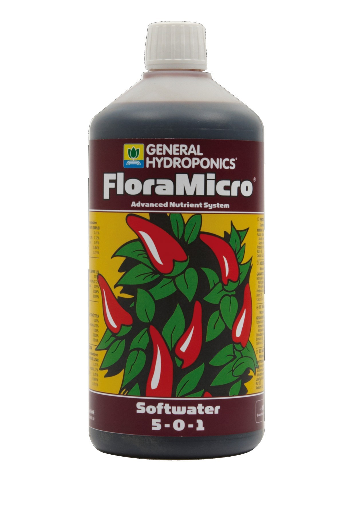 GHE FloraMicro Soft Water 1L